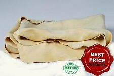 GENUINE REAL LEATHER CHAMOIS OIL TANNED CLOTH CHAMMY SHAMMY CAR WINDOWS CLEANING