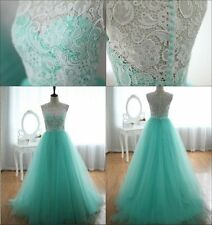 ◆CYBER MONDAY◆ Long A-Line Evening Bridesmaid Prom Formal Gowns Club Party Dress