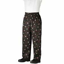Chefwear 3500-82 Ultimate Chef Pant Pacific Rim all sizes XS-5XL NEW!