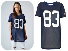 TOPSHOP American Football Top / Dress - Sizes XS/S/M/L - RRP £26 - BRAND NEW !!!