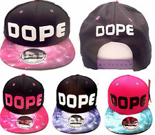 New Dope snapback caps, mens, flat peaks baseball hats