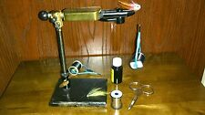 Fly Tying Vice Rotatable Head Pedestal Stand