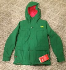 NWT The North Face Womens MEDIUM Highest Ridge Jacket Amazon Green