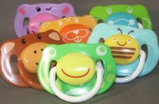ADULT PACIFIER Funky Face dummy soother NUK4 or NUK5 teat/nipple modified new