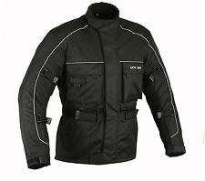 MCW Gear Roadex Black Motorcycle Motorbike Armour Jacket