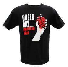 Green Day Punk Rock Band Embroidered Graphic T-Shirts