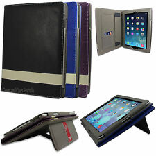 NEW Padded Protective Faux Leather Stand Case for Apple iPad 2 3 4 mini Cover