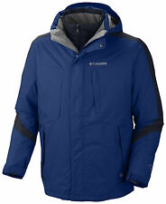"NEW COLUMBIA MENS ""Whirlibird III "" 3-IN 1 OMNI HEAT WINTER JACKET COAT  NWT."