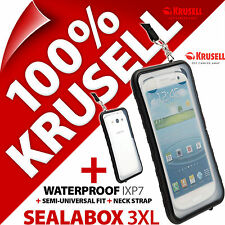 NEW KRUSELL SEALABOX 3XL WATERPROOF MOBILE PHONE CASE COVER POUCH UNDERWATER DRY