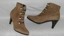 Clarks Kitten Top Light Brown Millitary Suede Ladies ankle Boots RRP £70
