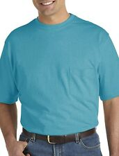 Harbor Bay Wicking Jersey Pocket Tee Casual Male XL Big & Tall