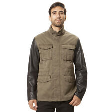 X-Ray Men's Twill Jacket XMJ-8350 Olive Color