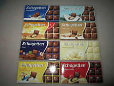 4x 100g Schogetten Chocolade Cubes Different Flavors fresh from Germany NEW