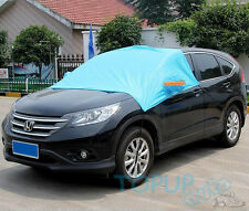 Car Windscreen Front Window Windshield Cover Half Size Snow Ice Frost Shade