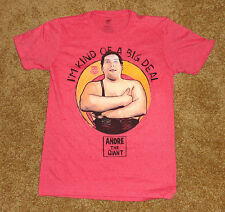 WW ~ ANDRE THE GIANT  Men'sT-Shirt New with Tags Small X Large WWE The Big Deal