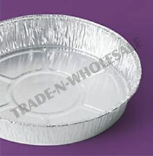 INDIVIDUAL DEEP FOIL PIE, QUICHE, FLAN, CHEESCAKE, DISHES, CASES, ROUND,TRAY TIN
