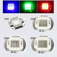 High Power 10W/20W/30W/50W SMD LEDs Beads Lamp Chip For RGB LED Flood Light
