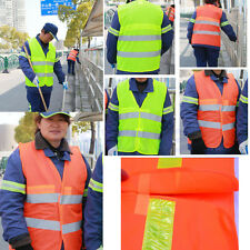 High Visibility Breathable Reflective Safety Vest Warning Working Clothes Thin