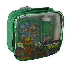 Boys/Girls New Characters Lunch Bag Set/ Kit with Drinks Bottle and/or Lunch Box