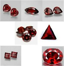 BEST PRICE 7 SHAPES AAA Cubic Zirconia 6-10mm GARNET PMC CLAY CASTING RESISTANT