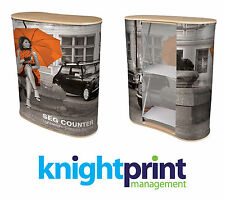 Pop Up Counter - Printed Pop Up Display - Exhibition Stand - Portable Display