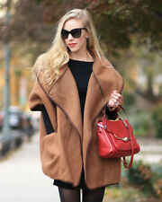 *Sell Out* H&M Wool Blend Oversized Cape Camel Brown Size XS Bloggers!