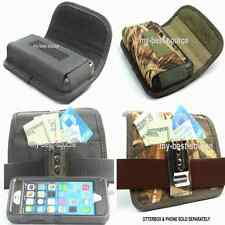 Pouch/Holster Horizontal Metal Clip FOR Otterbox Defender Case Camo OR Black