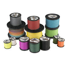 8 Strands Multicolor Sea Braid Fishing Line 1000M 10LB-300LB PE Dyneema Spectra