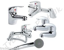 Range Of Bathroom Tap Pack Set Bath Filler Shower Mixer Mono Basin Taps