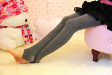 Hot Women's Winter Warm Skinny Slim Leggings Stretch Knitted Thick Stirrup Pants