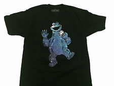 Sesame Street Cosmic Cookie Monster Vintage Classic TV Show PBS T Shirt