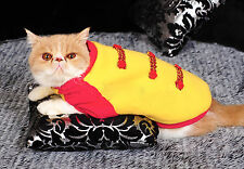 Pet puppy Prince Hooded stitching clothes dog cat Costume fleece Hoodie Coat