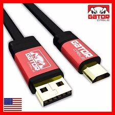 Micro USB Cable Charger Sync Data Android Phones Samsung S3 S4 S6 Note 2 4 5 HTC