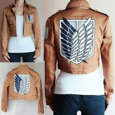1PC Attack On Titan Shingeki No Kyojin Scouting Legion Cosplay Costume Jacket sp
