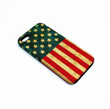 For Apple iPhone 5 / 5s / SE Hybrid 2-in-1 Phone Cover Case United States Flag