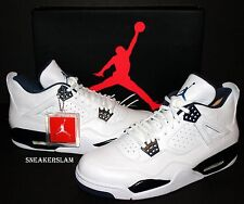 NEW 2015 Nike Air Jordan Retro 4 IV Remastered COLUMBIA Legend Blue Sizes 7.5-15