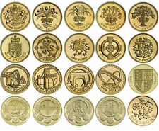 VARIOUS UK GB COMMEMORATIVE £1 ONE POUND COINS - FULL SET COLLECTION AVAILABLE