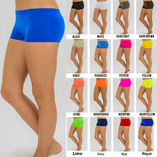 Women Sexy Panties Boy Shorts Mini Briefs Spandex Underwear Lot Dance Free Size