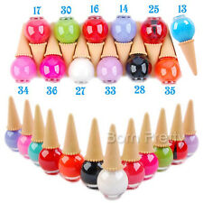12ml Cute Candy Ice Cream Cone Manicure Nail Polish Nail Art Varnish -12 colors