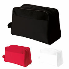 TOILET BAG COSMETIC TRAVEL WASH MAKE UP CASE TOILETRIES UNISEX COMPACT HOLIDAY