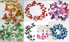 3D Butterfly decoration sticker Art Wall Magnet Home Decor Party Wedding 12