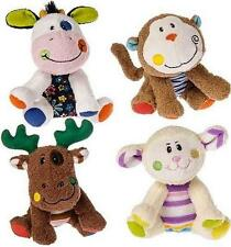 "Mary Meyer Cheery Cheeks 4"" Sprouts Plush Cow, Lamb, Monkey or Moose NWT"