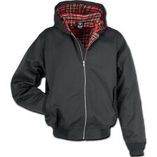 Brandit Canterbury Herrenjacke Rockabilly Look Jacke Hooligan Harrington Hooded