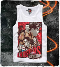 E1SYNDICATE TANK TOP GHOSTBUSTERS 80s BILL MURRAY BLOGGER DVD BLUE RAY SLIMER