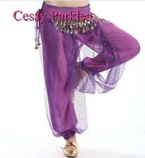 Belly Dance Harem Pants Bollywood Dancing Shinny Sequin Balloon Bloomers Pants