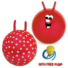 """NEW21"""" LARGE CHILDREN KID SPACE HOPPER JUMP BOUNCE FUN BALL OUTDOOR TOY 2DESIGNS"""