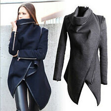 Women Jacket New Spring Slim Cropped Outwear Trench Coat Overcoat Plus Size
