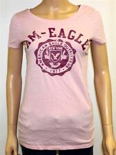 American Eagle Outfitters AEO Am-Eagle Graphic Tee Womens Pink T-Shirt New NWT
