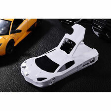Cute 3D Race Sports Car Phone Case Cover For iPhone 4 5 6 & Samsung Galaxy S3 S4