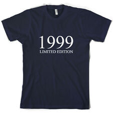 1999 Limited Edition - Mens 17th Birthday Present / Gift T-Shirt - 10 Colours